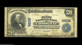 National Bank Notes:Tennessee, Crossville, TN - $20 1902 Plain Back Fr. 653 The First NB Ch. #9809 The census shows a fair number of notes extant fro...