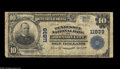 National Bank Notes:Tennessee, Johnson City, TN - $10 1902 Plain Back Fr. 633 Tennessee NB Ch. #11839 This bank was in business for a relatively bri...