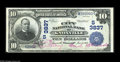 National Bank Notes:Tennessee, Knoxville, TN - $10 1902 Date Back Fr. 618 The City NB Ch. #(S)3837 This bank failed in 1932. Although its issue is n...