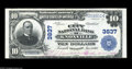 National Bank Notes:Tennessee, Knoxville, TN - $10 1902 Plain Back Fr. 626 The City NB Ch. # 3837A bright Extremely Fine Plain Back of the varie...