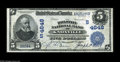 National Bank Notes:Tennessee, Knoxville, TN - $5 1902 Date Back Fr. 594 The Holston NB Ch. #(S)4648 While this bank issued Blue Seals under two tit...