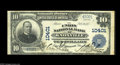 National Bank Notes:Tennessee, Knoxville, TN - $5 1902 Plain Back Fr. 604 The Union NB Ch. # 10401A Fine+ note with a small spindle hole at top ...