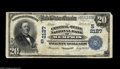 National Bank Notes:Tennessee, Memphis, TN - $20 1902 Plain Back Fr. 656 The Central-State NB Ch.# (S)2127 This was the second title under which thi...