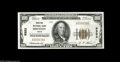 National Bank Notes:Texas, Houston, TX - $100 1929 Ty. 1 The Houston National Bank Ch. # 9353The Type 1 issue from here was limited to the $50 a...