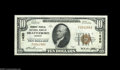 National Bank Notes:Vermont, Brattleboro, VT - $10 1929 Ty. 1 Vermont-Peoples NB Ch. # 1430 A gorgeous example with exceptionally broad margins on b...