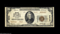 National Bank Notes:Virginia, Danville, VA - $20 1929 Ty. 2 The American NB&TC Ch. # 9343Only the second Type 2 for this denomination known, and wi...