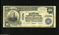 National Bank Notes:Virginia, Norfolk, VA - $10 1902 Plain Back Fr. 628 The Seaboard NB Ch. #10194 This institution ordered notes bearing two disti...