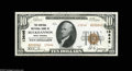 National Bank Notes:West Virginia, Buckhannon, WV - $10 1929 Ty. 2 The Central NB Ch. # 13646 A VeryChoice Crisp Uncirculated example we'd have cons...