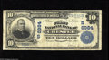National Bank Notes:West Virginia, Chester, WV - $10 1902 Plain Back Fr. 624 The First NB Ch. #(S)6984 This bank, chartered in a small town at the very n...