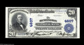 National Bank Notes:West Virginia, Huntington, WV - $20 1902 Plain Back Fr. 654 The Huntington NB Ch.# 4607 This beautifully fresh Very Choice About U...