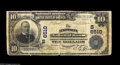 National Bank Notes:West Virginia, Madison, WV - $10 1902 Plain Back Fr. 624 The Madison NB Ch. #(S)6510 This was the only issuing bank located in this B...
