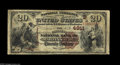 National Bank Notes:West Virginia, Martinsburg, WV - $20 1882 Brown Back Fr. 499 The Citizens NB Ch. # 4811 The census from here includes 13 large notes,...
