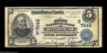 National Bank Notes:West Virginia, Monongah, WV - $5 1902 Plain Back Fr. 598 The First NB Ch. #(S)7545 A very scarce note from the only bank to issue in ...
