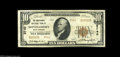 National Bank Notes:West Virginia, Montgomery, WV - $10 1929 Ty. 2 The Merchants NB Ch. # 9740 A nicelooking Very Fine from the scarcer of the two 1...