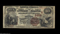 National Bank Notes:West Virginia, Morgantown, WV - $10 1882 Brown Back Fr. 490 The Second NB Ch. #(S)2458 The census from here includes nine large size...
