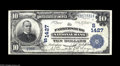 National Bank Notes:West Virginia, Parkersburg, WV - $10 1902 Date Back Fr. 616 The Parkersburg NB Ch.# 1427 A well margined Very Fine spuriously sig...