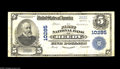 National Bank Notes:West Virginia, Reedy, WV - $5 1902 Plain Back Fr. 602 The First NB Ch. # 10285While small notes from here are occasionally available,...