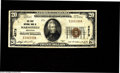 National Bank Notes:Wisconsin, Marshfield, WI - $20 1929 Ty. 1 The First NB Ch. # 4573 An evenly circulated example from this well collected community...