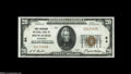 National Bank Notes:Wisconsin, Milwaukee, WI - $20 1929 Ty. 1 The First Wisconsin NB Ch. # 64 CGA Gem Uncirculated 66. The cavernously deep embos...