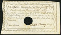 Colonial Notes:Connecticut, State of Connecticut Comptroller's Office 2 Pounds Jan. 19, 1790....