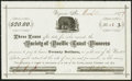 Obsoletes By State:Nevada, Virginia, NV - Society of Pacific Coast Pioneers Loan Receipt $20 Mar. 10, 1877. ...