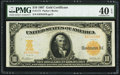 Large Size:Gold Certificates, Fr. 1171 $10 1907 Gold Certificate PMG Extremely Fine 40 EPQ.. ...