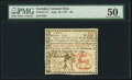 Colonial Notes:Georgia, Georgia September 10, 1777 $4 PMG About Uncirculated 50.. ...