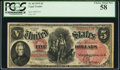 Large Size:Legal Tender Notes, Fr. 68 $5 1875 Legal Tender PCGS Choice About New 58.
