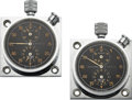 Timepieces:Other , Ed. Heuer & Co. Two Autavia Rally Timers For Abercrombie & Fitch Co.. ... (Total: 2 Items)