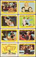 """Movie Posters:Comedy, Some Like It Hot (United Artists, 1959). Lobby Card Set of 8 (11"""" X14""""). Comedy.. ... (Total: 8 Items)"""