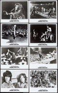 "Movie Posters:Rock and Roll, Gimme Shelter (20th Century Fox, 1970). Photos (9) (8"" X 10"") &Transparency (5"" X 3.25""). Rock and Roll.. ... (Total: 10 Items)"