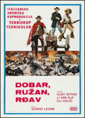"Movie Posters:Western, The Good, the Bad and the Ugly (Makedonija Film, 1968). YugoslavianPoster (20"" X 28""). Western.. ..."