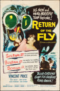 """Movie Posters:Science Fiction, Return of the Fly (20th Century Fox, 1959). Poster (40"""" X 60"""").Science Fiction.. ..."""