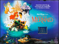 "Movie Posters:Animation, The Little Mermaid (Warner Brothers, 1989). British Quad (30"" X 40"") SS. Animation.. ..."