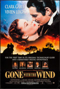 "Movie Posters:Academy Award Winners, Gone with the Wind (New Line Cinema, R-1998). One Sheet (27"" X 40"")Advance. Academy Award Winners.. ..."