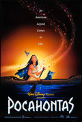 """Movie Posters:Animation, Pocahontas (Buena Vista, 1995). Rolled, Very Fine-. One Sheet (27""""X 40"""") DS Advance. Animation.. ..."""