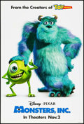 "Movie Posters:Animation, Monsters, Inc. & Other Lot (Buena Vista, 2001). One Sheets (2) (27"" X 40"") DS Advance & Regular. Animation.. ... (Total: 2 Items)"