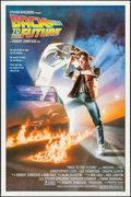 """Movie Posters:Science Fiction, Back to the Future (Universal, 1985). One Sheet (27"""" X 41"""").Science Fiction.. ..."""