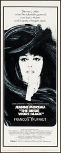 "Movie Posters:Foreign, The Bride Wore Black (Lopert, 1968). Insert (14"" X 36""). Foreign.. ..."