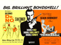 "Movie Posters:James Bond, Dr. No/Thunderball Combo (United Artists, R-1970s). British Quad(30"" X 40"").. ..."