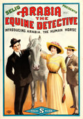 "Movie Posters:Drama, Arabia: The Equine Detective (Selig, 1913). One Sheet (28.25"" X41"").. ..."