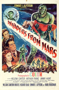 """Movie Posters:Science Fiction, Invaders from Mars (20th Century Fox, 1953). One Sheet (27"""" X41"""").. ..."""