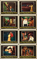 """Movie Posters:Drama, Rebel without a Cause (Warner Brothers, 1955). Lobby Card Set of 8(11"""" X 14"""").. ... (Total: 8 Items)"""