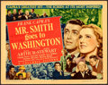 """Movie Posters:Drama, Mr. Smith Goes to Washington (Columbia, 1939). Autographed Title Lobby Card (11"""" X 14"""").. ..."""