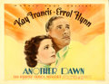 "Movie Posters:Drama, Another Dawn (Warner Brothers, 1937). Half Sheet (22"" X 28"") Style B.. ..."