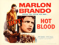 "Movie Posters:Exploitation, The Wild One (Columbia, 1953). Half Sheet (22"" X 28"") Original Title: Hot Blood.. ..."