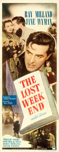 "Movie Posters:Academy Award Winners, The Lost Weekend (Paramount, 1945). Insert (14"" X 36"").. ..."