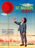 """Movie Posters:Foreign, The Red Balloon (Jeannic Films, 1956). Full-Bleed French Grande (45"""" X 61"""") Pon't Artwork.. ..."""
