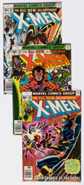 Bronze Age (1970-1979):Superhero, X-Men Group of 23 (Marvel, 1977-80) Condition: Average VF+....(Total: 23 Comic Books)