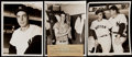 Baseball Collectibles:Photos, Joe DiMaggio Type I Photo Lot of 8 with Photo After 56th Game ofStreak.. ...